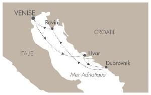 itinéraire croisière adriatique
