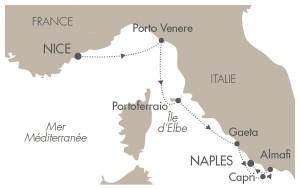 itinéraire croisière méditerranée