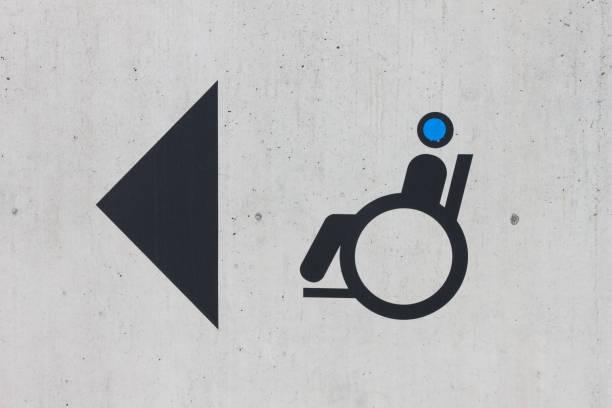 Signalétique d'accès pour fauteuil roulant