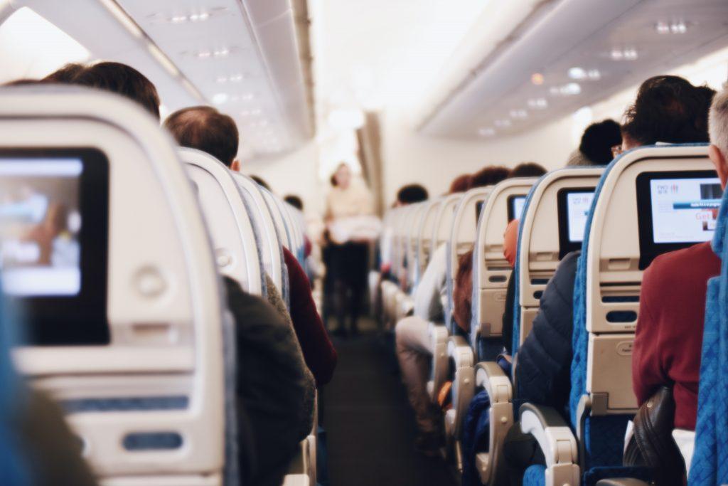 Se détendre en avion